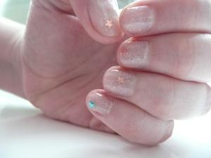 Summer Stars Nails - Right Hand