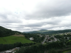 Conwy Castle - View From One Of The Towers