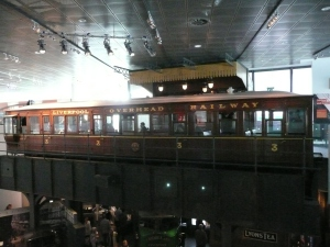Carriage from the Liverpool Overhead Railway
