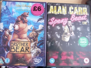 DVD's - Brother Bear and Spexy Beast